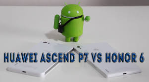 Huawei Ascend P7 VS Honor 6 - YouTube