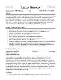 er nurse resume example school nurse resume sample