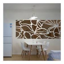 <b>Silver Color Sticker Geometry</b> Pattern Large Creative Wall Decals ...