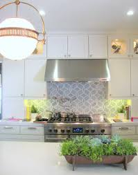 Unique Ann Sacks Glass Tile Backsplash Amazing Kitchen With Floor To Ceiling Cabinets Inspiration Decorating