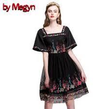 by Megyn <b>2017</b> Spring Summer Brand <b>Runway Dress Women</b> Short ...