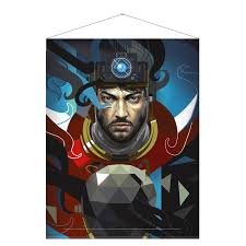 Prey Wallscroll <b>Morgan Yu</b> | The Official Bethesda Store Europe