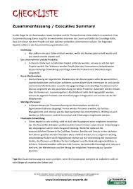 example elevator speech elevatorspeech example informative paper businessplan checkliste executive summary zusammenfassung