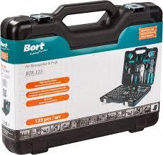 <b>Набор инструментов Bort</b> BTK-123, 91272867, черный, 123 ...