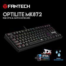 Fantech MK872 <b>Gaming Keyboard RGB</b> Backlit Keyboard Optical ...