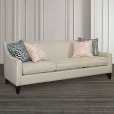 Lauren Sofa With Sloped Arms Living Room Bassett Furniture
