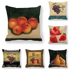 45 см * 45 см <b>Чехол на подушку с</b> красными цветами и зелеными ...