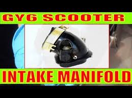 How to change <b>intake manifold</b> on a <b>scooter</b> 150cc/49cc <b>motorcycle</b> ...
