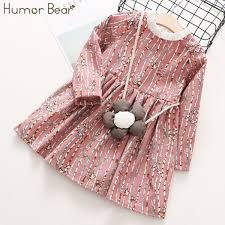 2019 <b>Humor Bear Children</b> Clothes 2018 Autumn <b>Girls</b> Dress Stripe ...