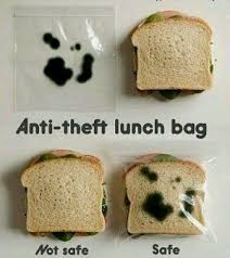 Wordy Wednesday: Anti-Theft Sandwich Bag via Relatably.com
