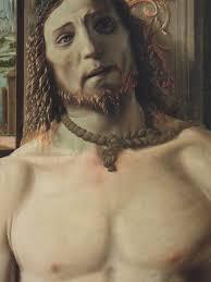 """Donato Bramante, Cristo alla colonna, 1490, currently in the collection of the Pinacoteca di Brera, Milan. """"Fu Bramante persona molto allegra e piacevole, ... - 1364977693g"""
