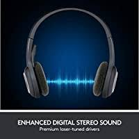 <b>Logitech</b> 981-000342 <b>H600 Wireless Headset</b>, Stereo Headphones ...