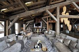 White Pearl Chalet Dining Room  Ski Chalet Furniture  Home Design Ideas