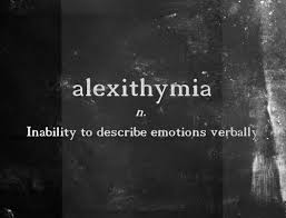 Image result for alexithymia