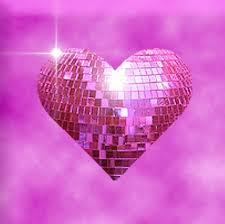 Pink <b>Heart</b>-<b>shaped Glitter</b> Ball | Gold sparkle wallpaper, Valentine ...