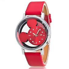 <b>Mickey Mouse Watch Double-sided</b> hollow Mickey watch Mickey ...