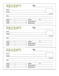 rent receipt templates for word and excel   rent receipt book template