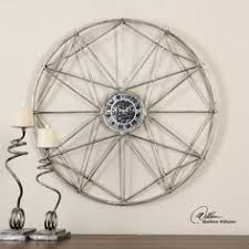 for a real modern vibe with just a touch of vintage this shoneah clock is big blank wall clock frei