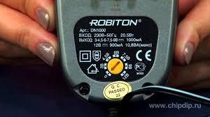 <b>Блоки питания Robiton</b> серии DN - YouTube