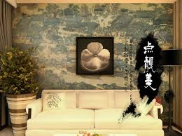 chinese style decor: free new chinese style home decor wall stickers wall paper vintage pvc boeing film