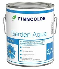 <b>Эмаль акриловая</b> (АК) <b>FINNCOLOR Garden</b> aqua — купить по ...