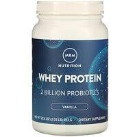 MRM, <b>Whey Protein</b>, <b>2</b> Billion Probiotics, Chocolate, 2.02 lbs (917 g ...