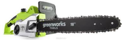 Пила цепная <b>Greenworks</b> GCS1836, 230V. 20217 — Все для дачи ...