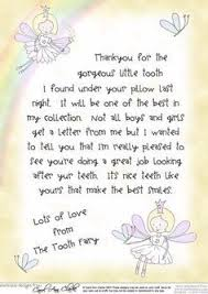 Tooth Fairy Letters on Pinterest | Tooth Fairy Certificate, Tooth ...