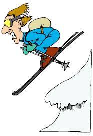 Bildergebnis für skifahrer comic