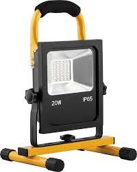 <b>Переносной светодиодный прожектор</b> с зарядным устройством ...