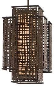 shoji light fixture by corbett lighting asian lighting