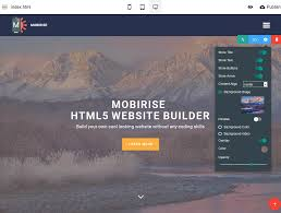 html website builder