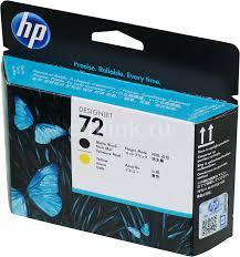 Купить <b>Печатающая головка HP</b> 72 C9384A черный матовый ...