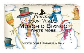 Купить <b>натуральное мыло merry christmas</b> muschio bianco 100г ...