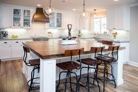 hgtv rustic industrial kitchen frosted glass