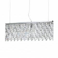 Подвесной <b>светильник Ideal Lux ELISIR</b> SP8 CROMO