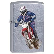 <b>207 DIRT BIKE 2</b> zippo (США) | <b>Зажигалка Zippo</b> Dirt bike Street ...
