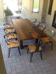 reclaimed oak furniture dining table reclaimed oak reclaimed wood and steel outdoor dining table reclaimed oak awesome custom reclaimed wood office desk