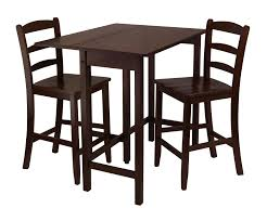 drop leaf dining table shaped pc drop leaf dining set in medium walnut finish walmartcom