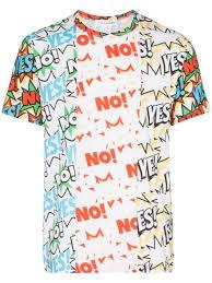 Comme Des Garçons Shirt <b>Футболка С Принтом</b> Yes <b>No</b> - Купить В ...