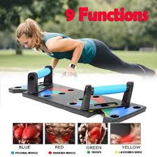 <b>9 In 1 Push</b> Up Rack Board Men Women Comprehensive Fitness ...