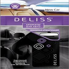 Ароматизатор Deliss картонный, серия New <b>Car</b> | www.gt-a.ru