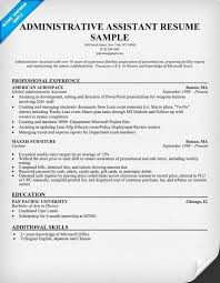 12 sample resume administrative assistant easy resume samples resume examples executive assistant