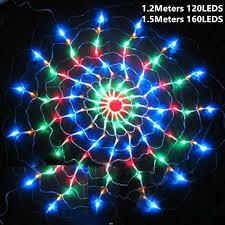 <b>LED</b> Flashing Neon <b>String Light Creative</b> Spider Net <b>Lamp</b> Wedding ...