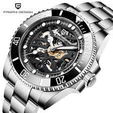 <b>PAGANI DESIGN</b> Brand 1659 Fashion <b>Mens Automatic</b> Watches ...