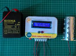 ARDUINO <b>SOLAR CHARGE CONTROLLER</b> (Version-1): 11 Steps ...
