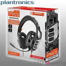 <b>Plantronics RIG 300HC</b> Gaming Headset Over Ear 3.5mm Jack for ...
