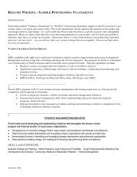 cover letter example profile for resume sample profile statement cover letter example of a resume profile examples sample statements strategy and marketing executive feat various