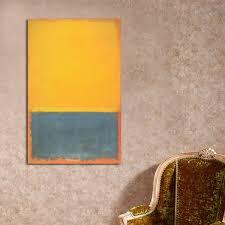 2019 <b>Mark Rothko Classical</b> Handpainted & HD Print Abstract Art <b>Oil</b> ...
