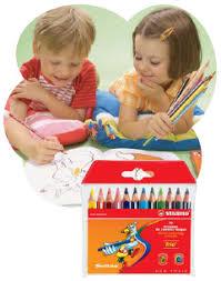 фломастеры, цветные и акварельные <b>карандаши</b>, <b>восковые</b> ...